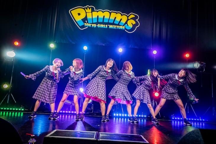 Pimm'sの東京・TSUTAYA O-WEST公演の様子。
