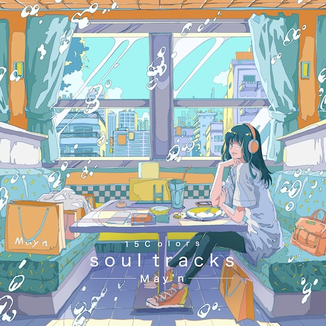 May'n「15Colors -soul tracks-」配信ジャケット