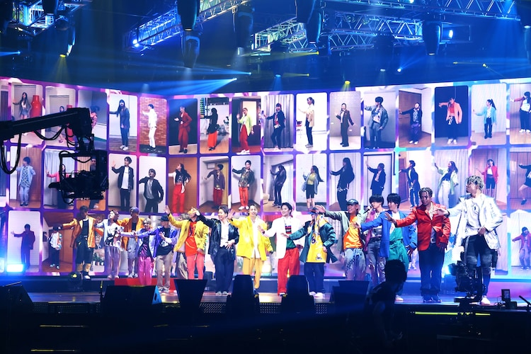 「WELCOME 2 PARADISE」を披露するTHE RAMPAGE from EXILE TRIBE。(写真提供:LDH JAPAN)