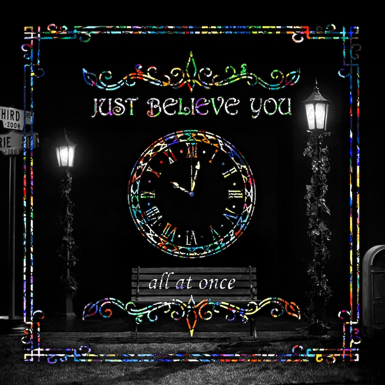 all at once「JUST BELIEVE YOU」配信ジャケット