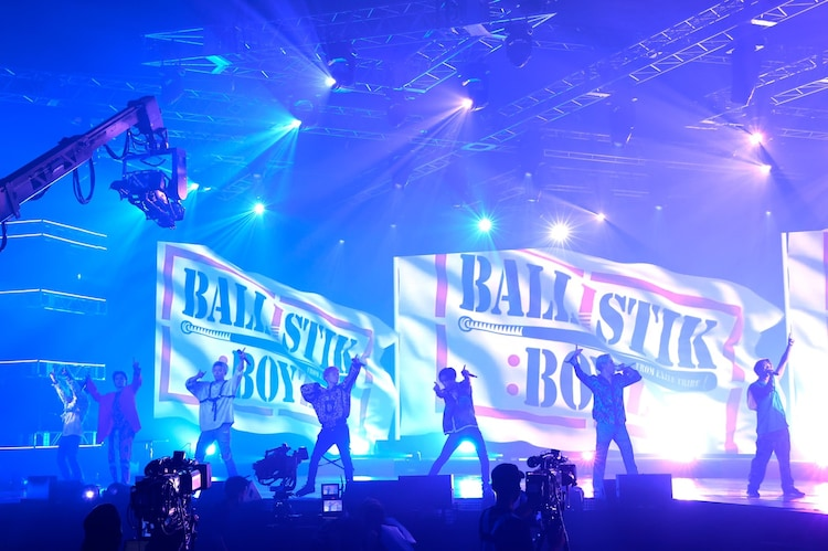 BALLISTIK BOYZ from EXILE TRIBE「LIVE×ONLINE IMAGINATION」の様子。(写真提供:LDH JAPAN)