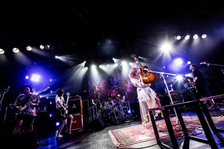 「大森靖子生誕祭 2020」の様子。(Photo by Masayo)