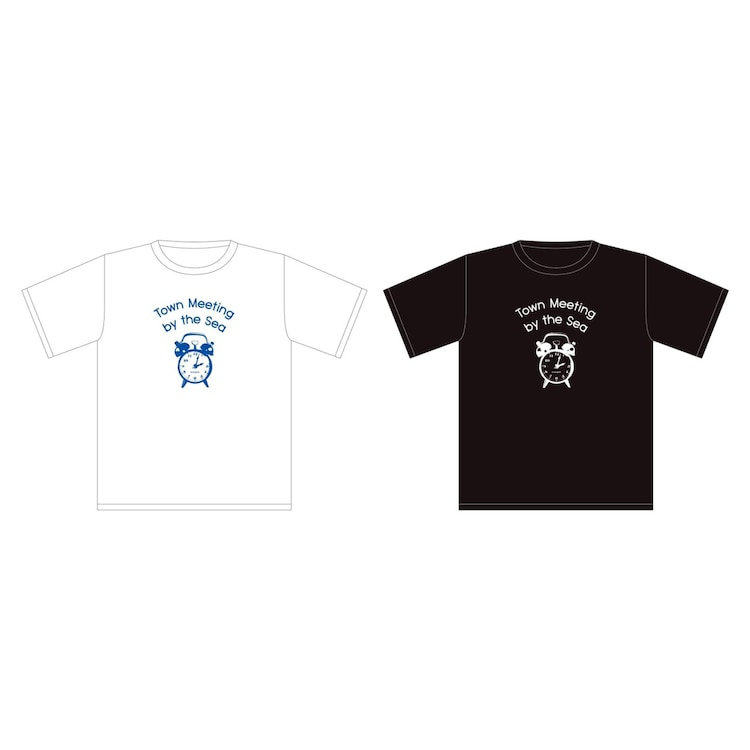 """「Analogfish 無観客配信LIVE """"Town Meeting by the Sea"""" at 江ノ島OPPA-LA」Tシャツ"""