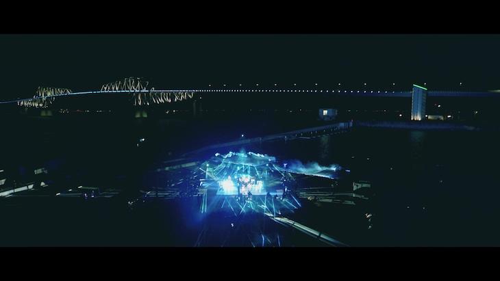「UVERworld LIVE 0925-Live Streaming-」の様子。