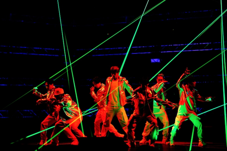 三代目 J SOUL BROTHERS from EXILE TRIBE「LIVE×ONLINE IMAGINATION」の様子。(写真提供:LDH JAPAN)