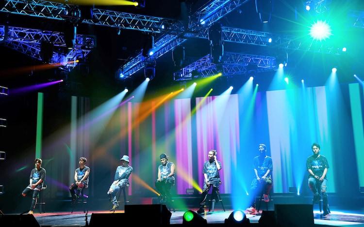 三代目 J SOUL BROTHERS from EXILE TRIBE「LIVE×ONLINE IMAGINATION」の様子。(写真提供:LDH JAPAN)