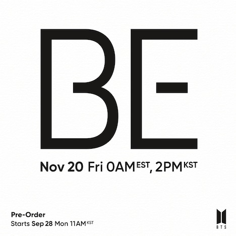 「BE (Deluxe Edition)」イメージ(Photo by Big Hit Entertainment)