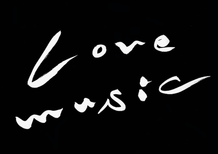 「Love music」ロゴ (c)フジテレビ