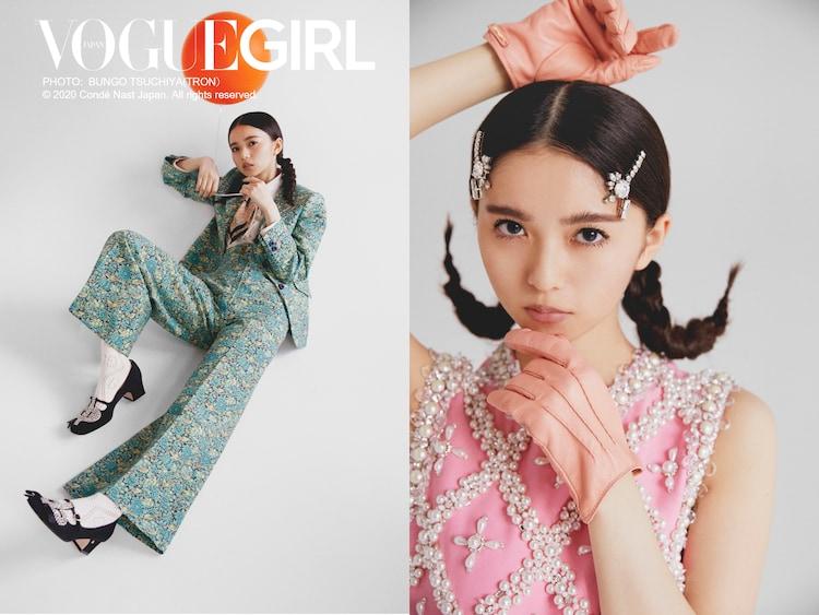 「VOGUE GIRL」より齋藤飛鳥(乃木坂46)。