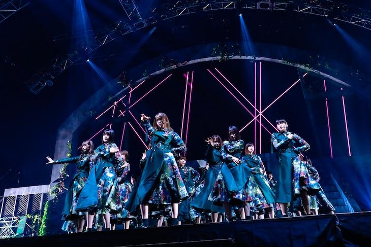 欅坂46「THE LAST LIVE」1日目の様子。