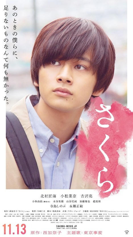 映画「さくら」キャラクターポスター