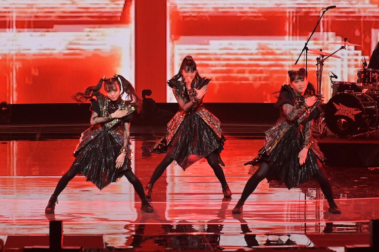 「NHK WORLD-JAPAN presents SONGS OF TOKYO Festival 2020」より、BABYMETAL。(写真提供:NHK)