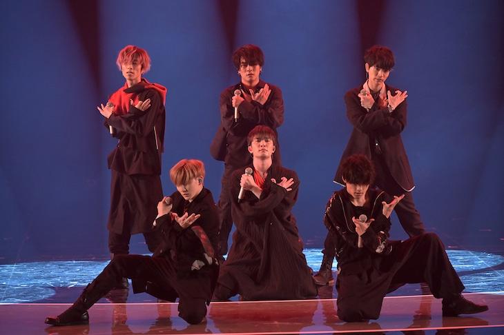 「NHK WORLD-JAPAN presents SONGS OF TOKYO Festival 2020」より、SixTONES。(写真提供:NHK)