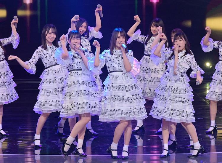 「NHK WORLD-JAPAN presents SONGS OF TOKYO Festival 2020」より、日向坂46。(写真提供:NHK)