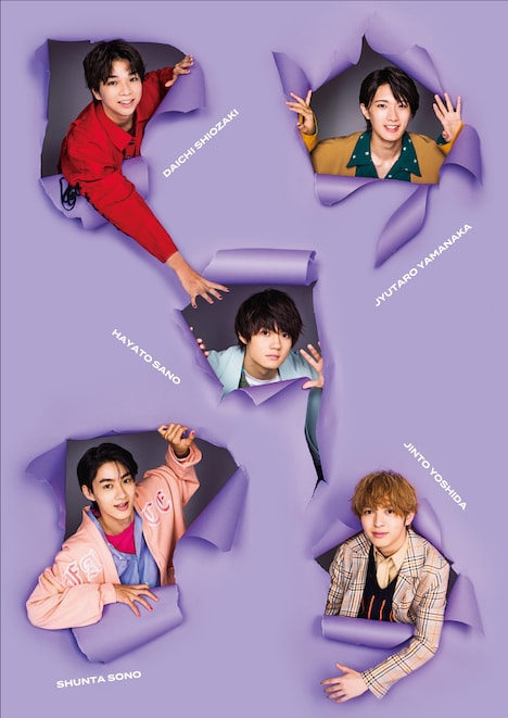 「M!LK mini photobook calendar 2021」メインビジュアル