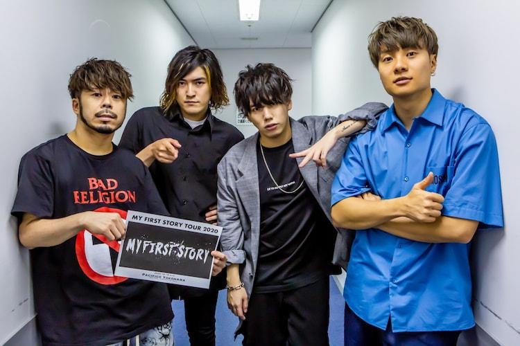 "「MY FIRST STORY ""TOUR 2020""」バックステージの様子。(Photo by TAKASHI KONUMA)"