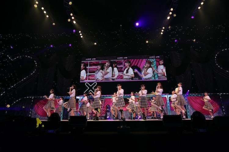 「=LOVE ≠ME スペシャルコンサート『24girls 2020』」の様子。(写真提供:代々木アニメーション学院)