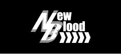 「New Blood」ロゴ