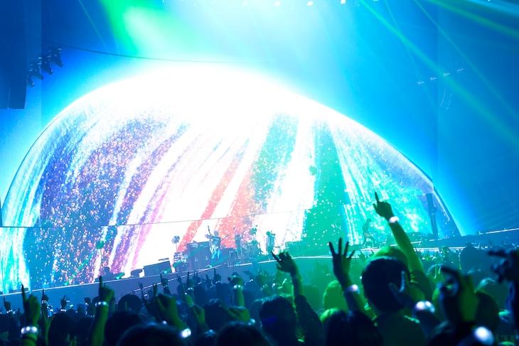 「BUMP OF CHICKEN TOUR 2019 aurora ark」の様子。