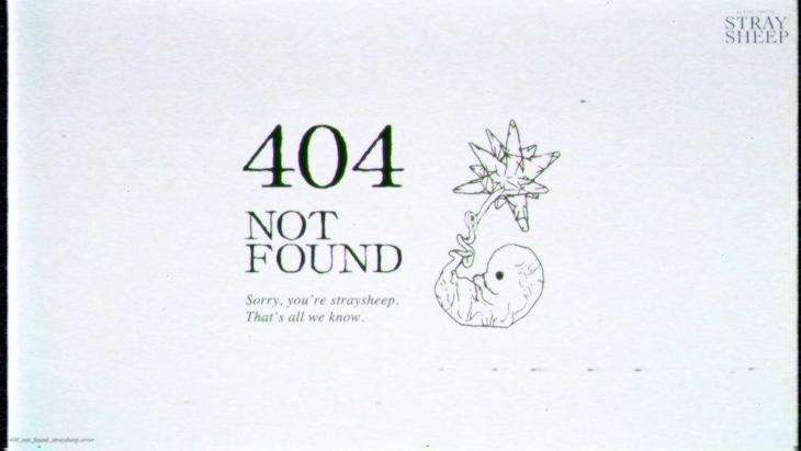 動画「404 NOT FOUND」のサムネイル。