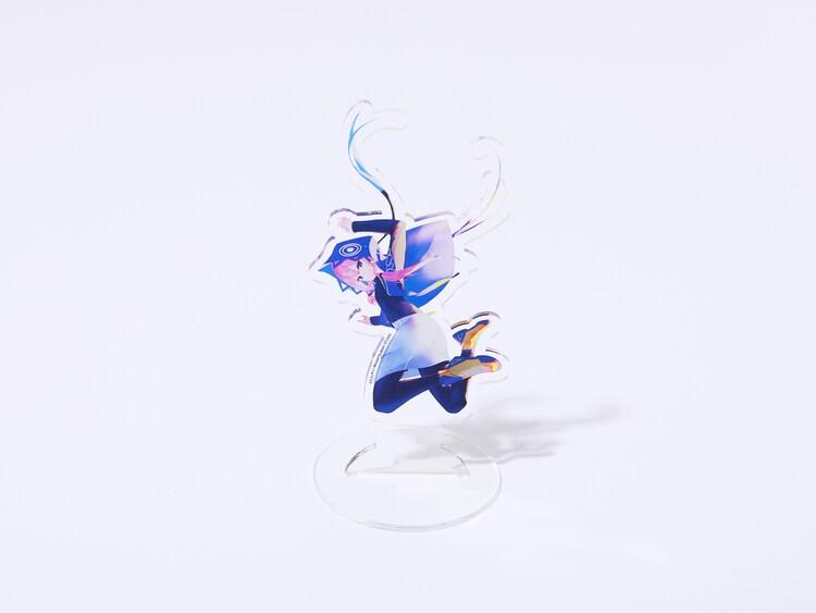 「魔女展」で販売される「花譜新衣装アクリルスタンド 青雀」。