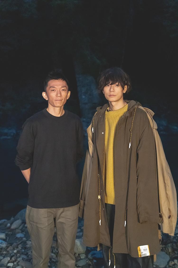 左から杉岡太樹監督、川上洋平。(撮影:伊藤愛輔)