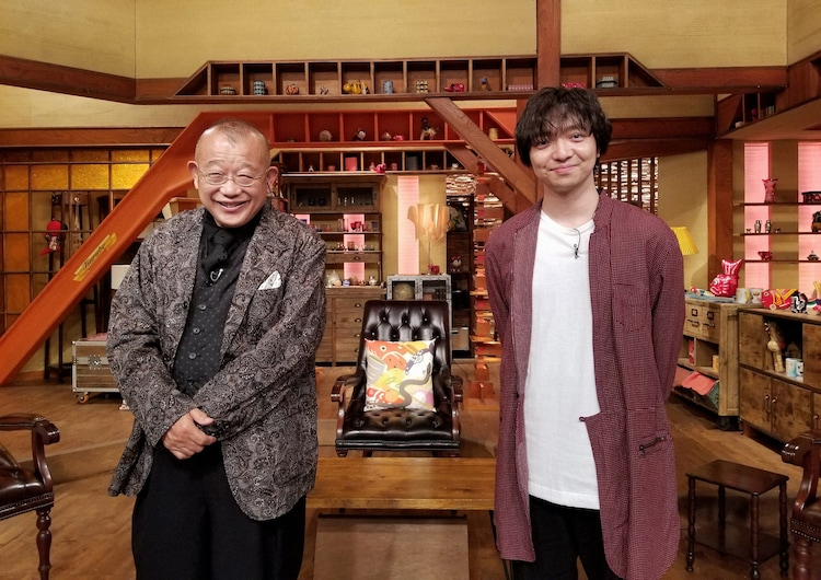 左から笑福亭鶴瓶、三浦大知。(写真提供:NHK)