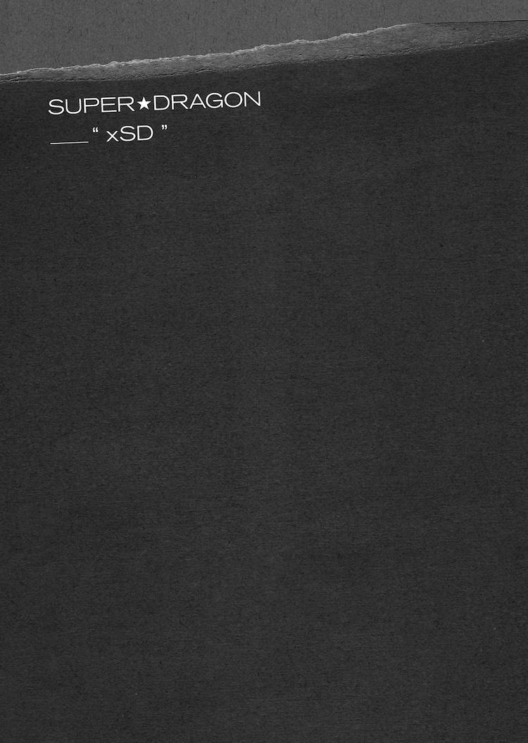 SUPER★DRAGON「Burn It Black e.p.」付属ZINE「xSD」表紙