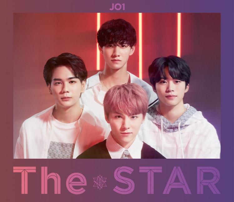 JO1「The STAR」初回限定盤Redジャケット