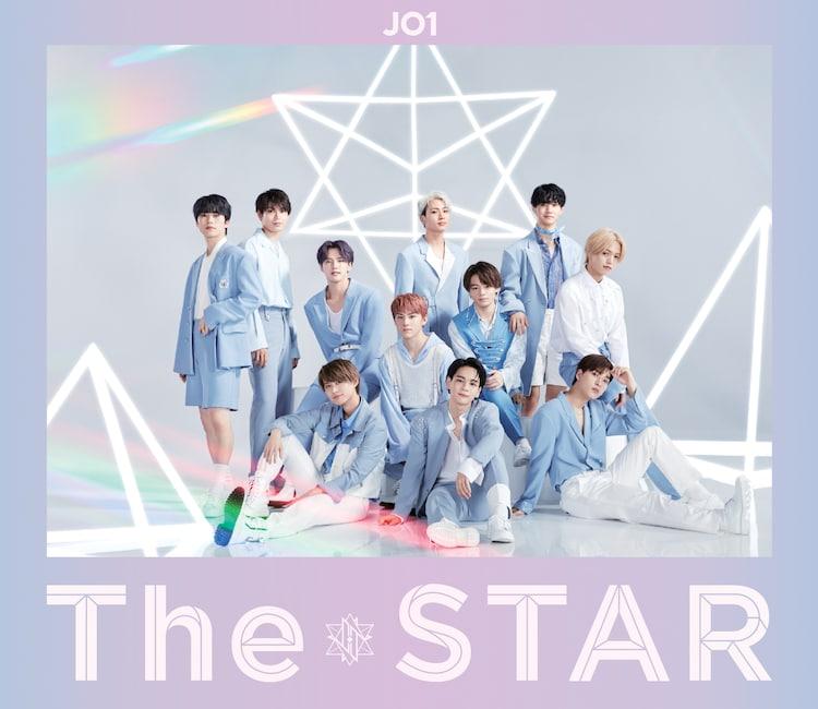 JO1「The STAR」通常盤ジャケット
