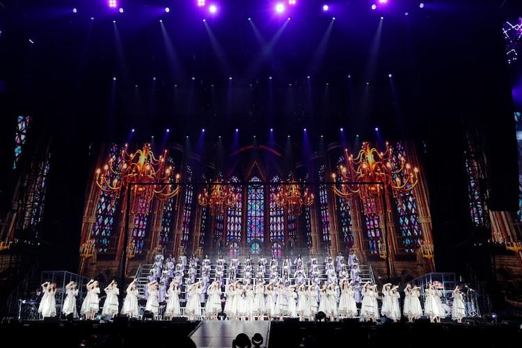 乃木坂46「8th YEAR BIRTHDAY LIVE」より。