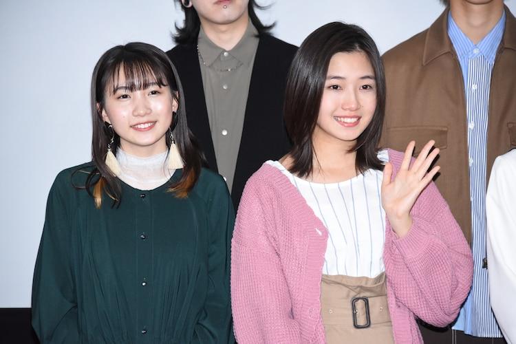 左からikura、小野莉奈。