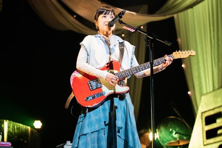 「有安杏果 サクライブ2020」の様子。(写真提供:Apricot Music Records)