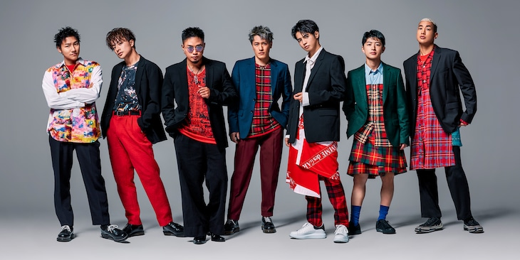 GENERATIONS from EXILE TRIBE。一番左が小森隼