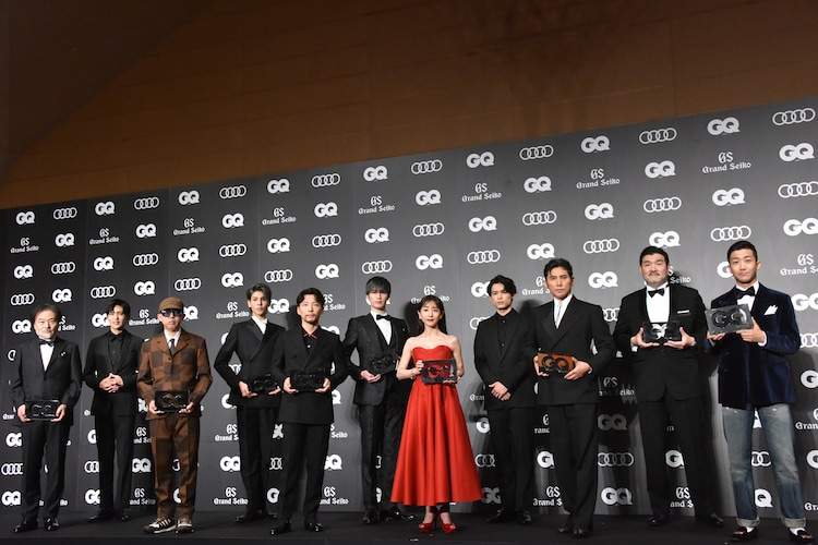 「GQ MEN OF THE YEAR 2020」受賞者。