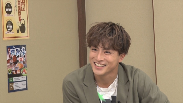 白濱亜嵐(GENERATIONS from EXILE TRIBE、EXILE、PKCZ) (c)フジテレビ