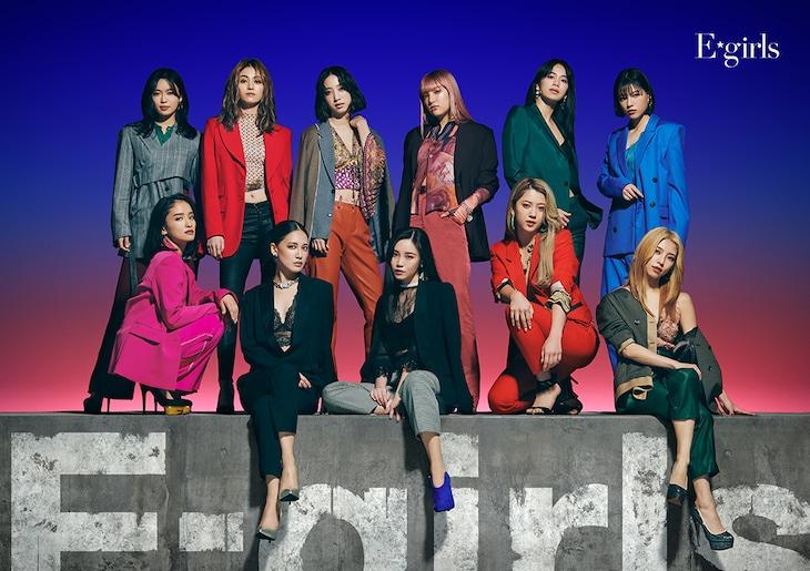E-girls「E-girls」2枚組CD+2枚組DVDジャケット