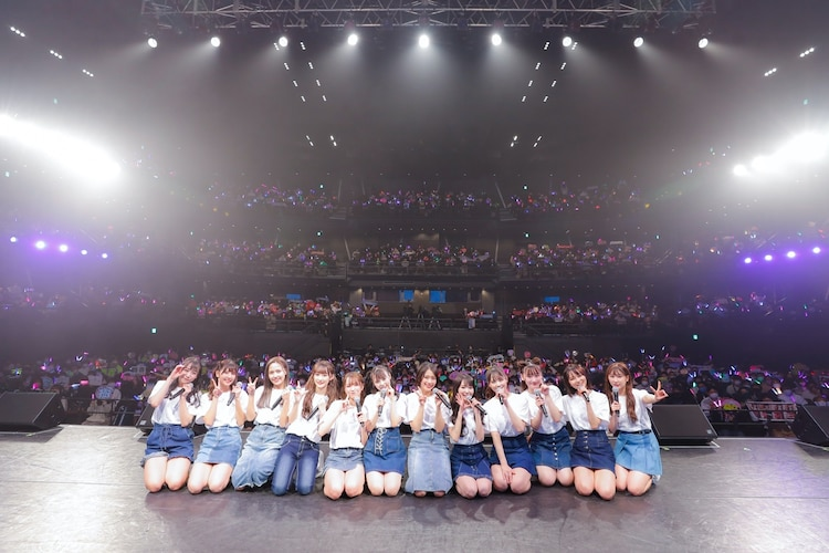 """=LOVE「WINTER TOUR『You all are """"My ideal""""』」東京・TOKYO DOME CITY HALL公演の様子。(写真提供:代々木アニメーション学院)"""