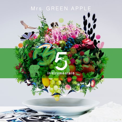 Mrs. GREEN APPLE「5 -Instrumentals-」ジャケット