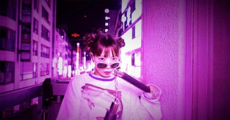 ねるん(ゆるめるモ!)「TOKYO DRIFT」のワンシーン。