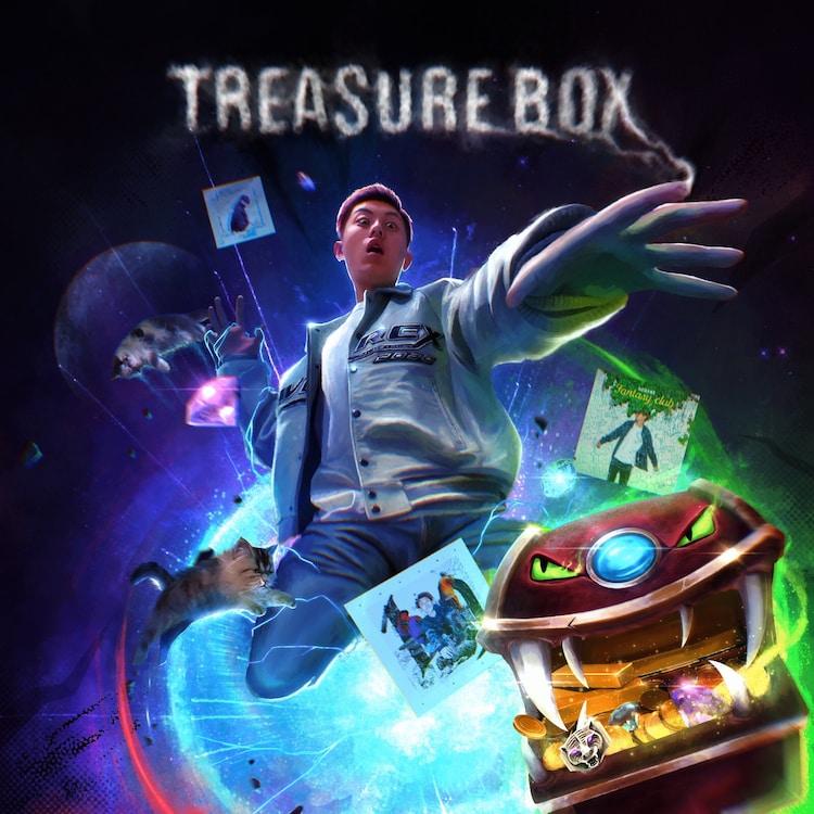 空音「TREASURE BOX」ジャケット