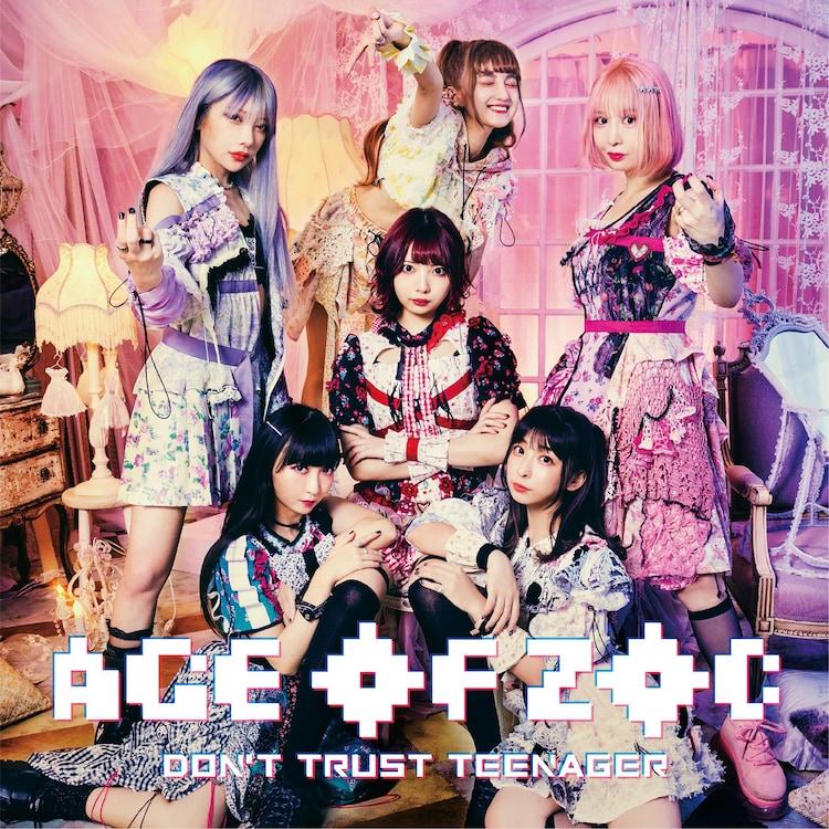 ZOC「AGE OF ZOC / DON'T TRUST TEENAGER」CD盤ジャケット
