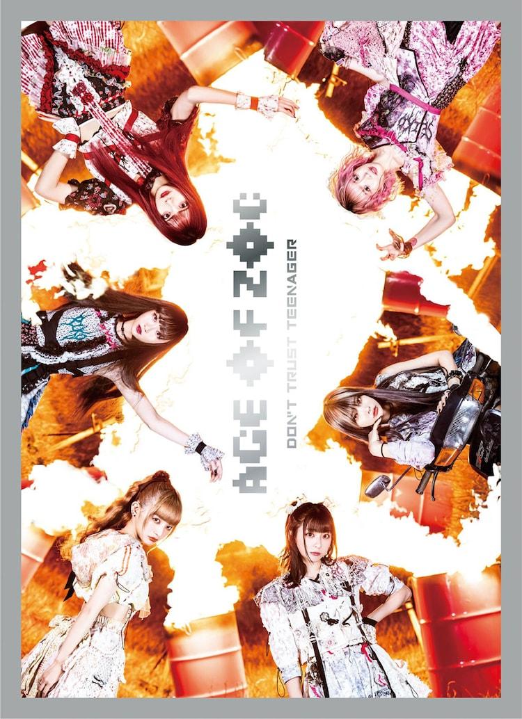 ZOC「AGE OF ZOC / DON'T TRUST TEENAGER」CD+Blu-ray盤ジャケット