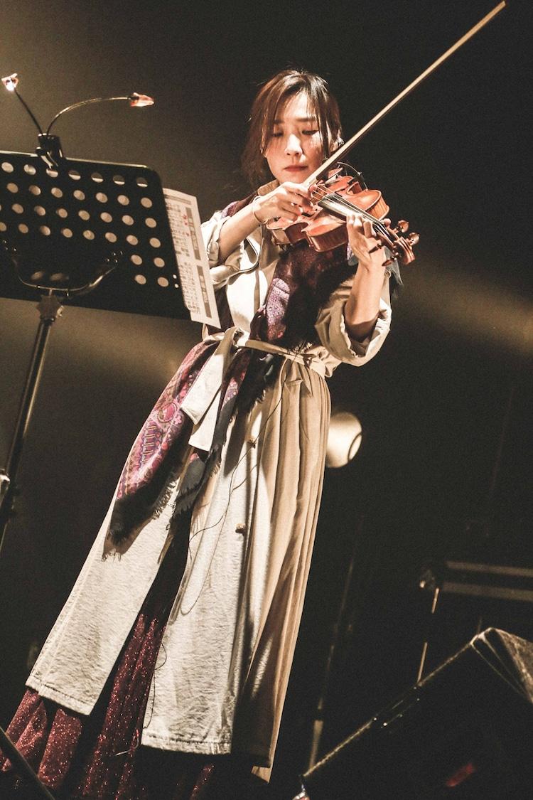 伊藤彩(Violin)(撮影:森好弘)