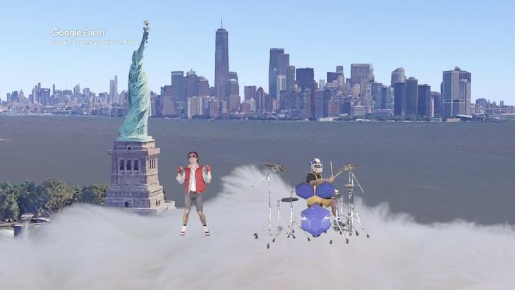 ザ・リーサルウェポンズ「雨あがる」ミュージックビデオより。