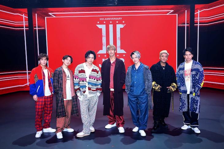 三代目 J SOUL BROTHERS from EXILE TRIBE(写真提供:LDH JAPAN)