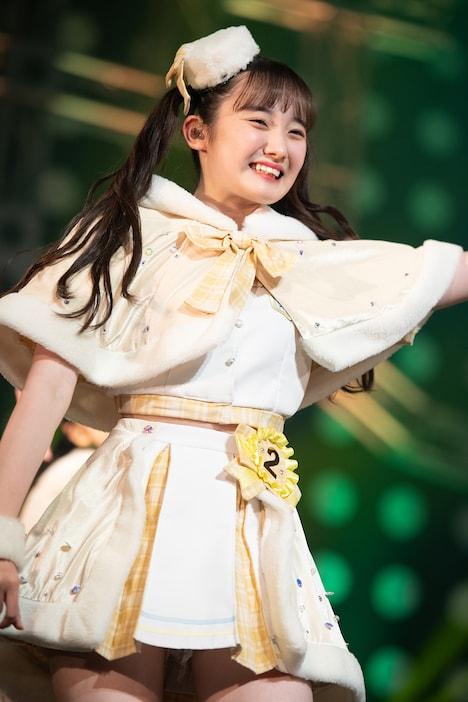2020年12月24日の神奈川・KT Zepp Yokohama公演での山本莉唯。