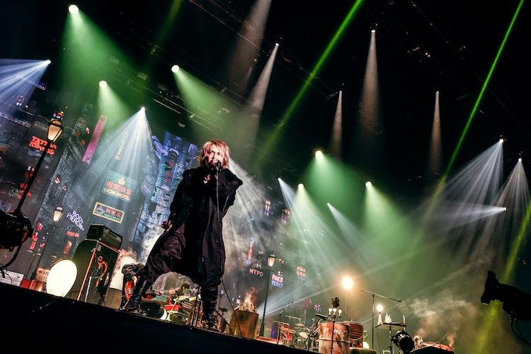 「HYDE LIVE 2020-2021 ANTI WIRE」神奈川・ぴあアリーナMM公演の様子。