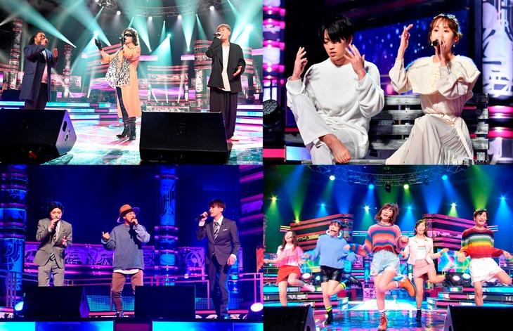 1月8日放送の「UTAGE!」より。 (c)TBS