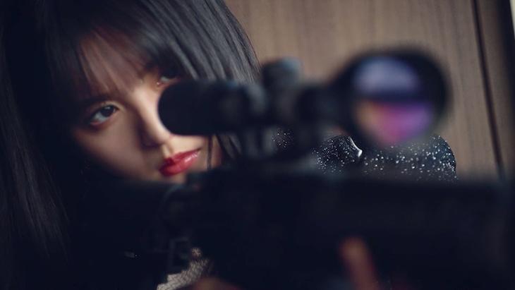 乃木坂46「Wilderness world」ミュージックビデオのワンシーン。